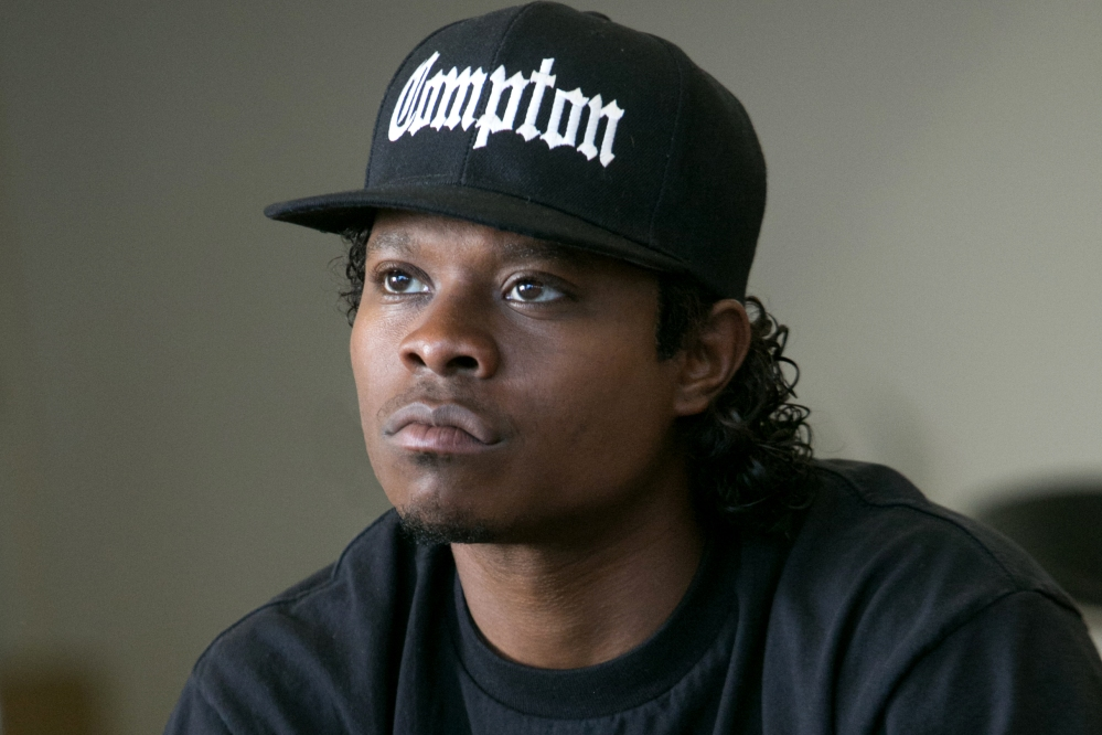 Jason Mitchell as Easy E in STRAIGHT OUTTA COMPTON. (Photograph courtesy of irishcinephile.wordpress.com)