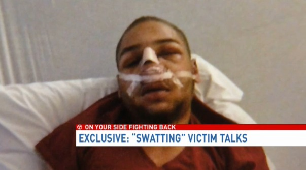 swatting tyran dobbs wjla-tv