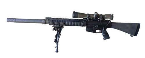 IDF SR-25 sniper rifle