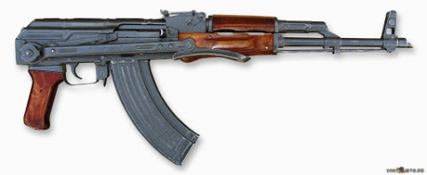 AKMS Small Arms of Russia